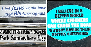 10 Bumper Stickers That Will Boost Your Mood In Traffic