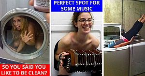 10 Dumb Girls Who Got Stuck In Hone Appliances