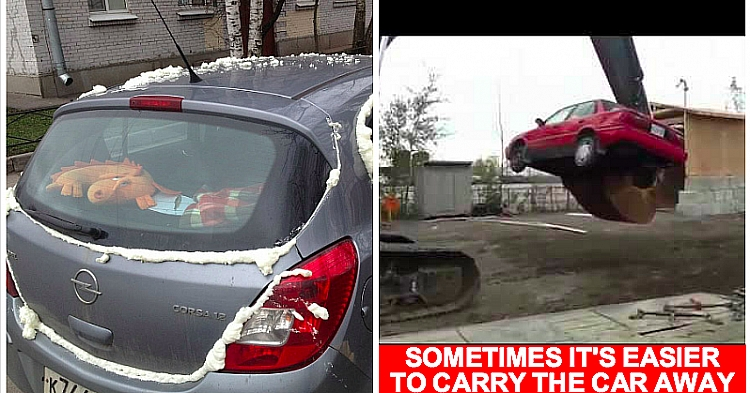 10 People Who Parked Horribly And Were Punished For That