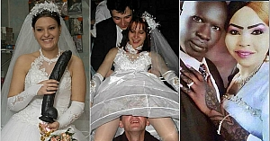 These Wedding Pictures Need Some Explanation