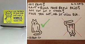 These 10 Funny Notes Were Actually Written And They Will Make You Laugh