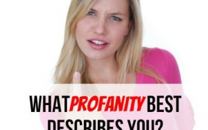 What Profanity Best Describes You?